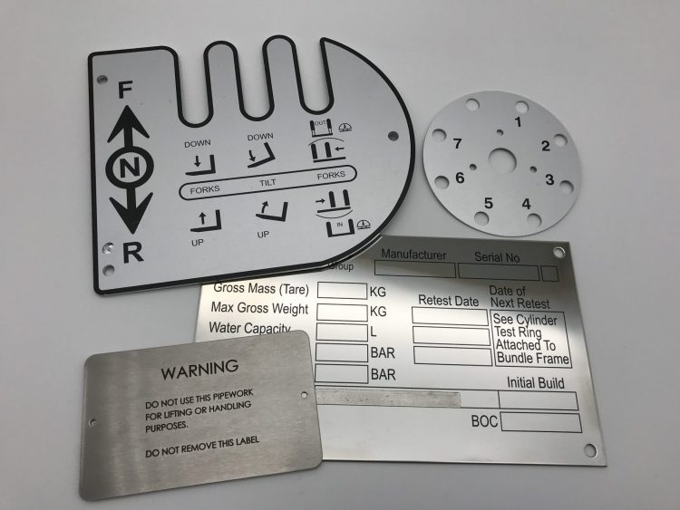 05 Metal Nameplates, Our Work 1