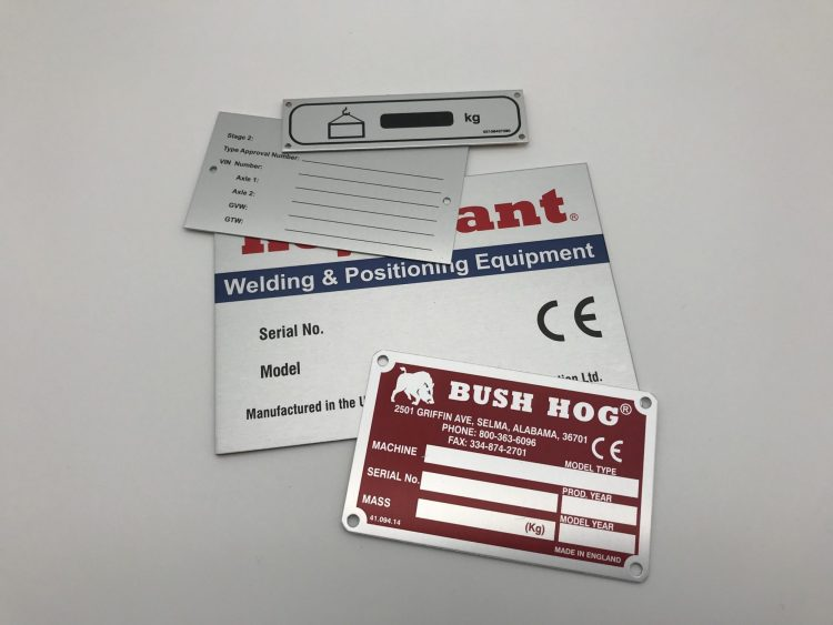 05 Metal Nameplates, Our Work 2